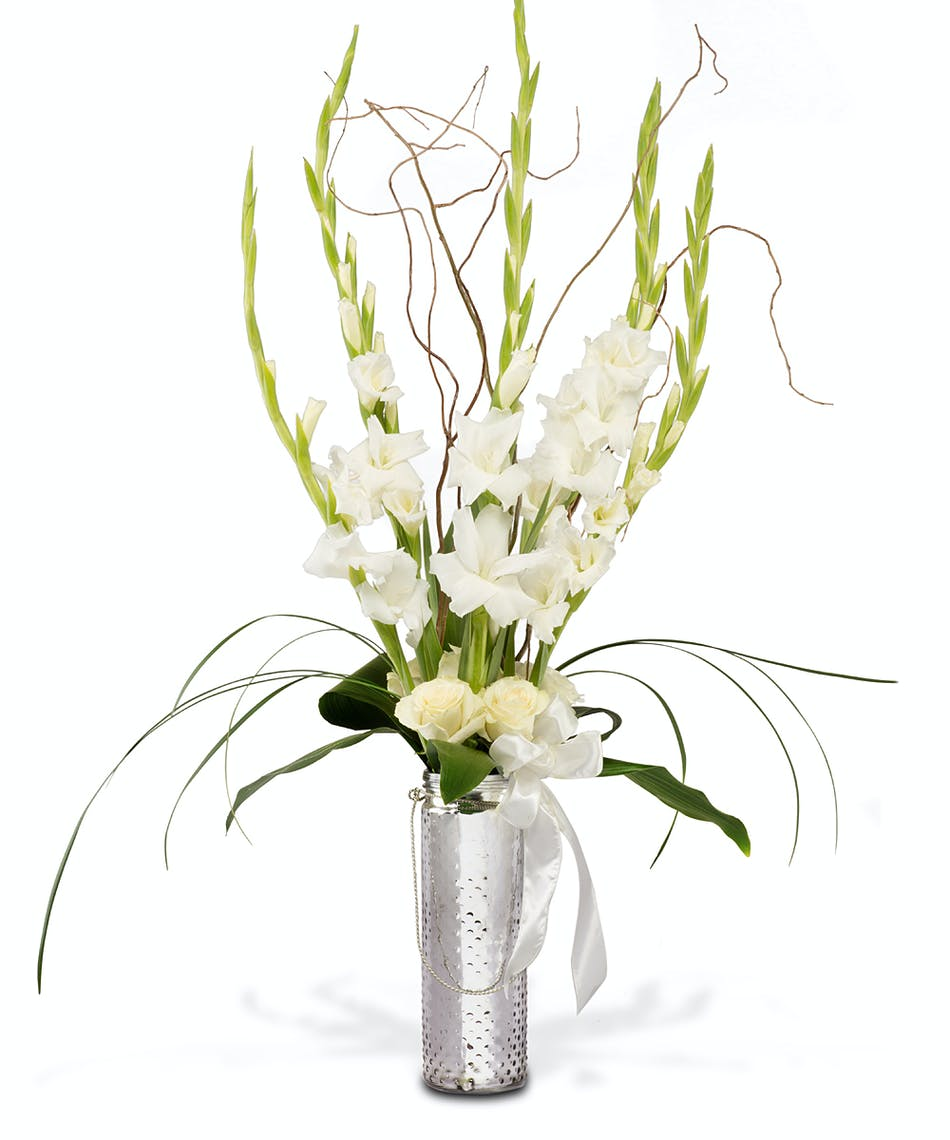 About Elegant Whites In Vase From Walter Knoll Florist In Saint