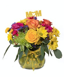 Bright Mother's Day bouquet
