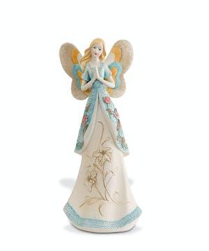 """12"""" ceramic angel"""