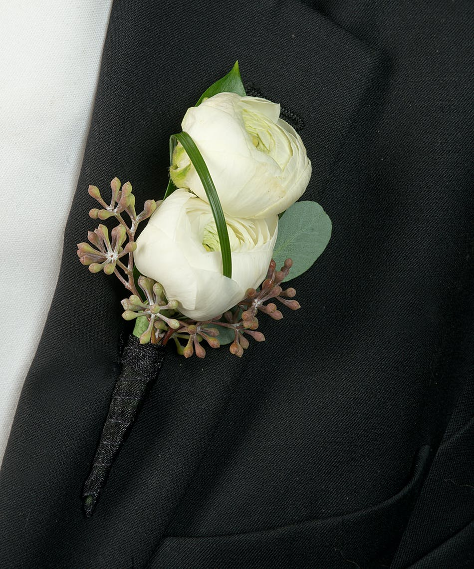 About Ranunculus Boutonniere From Walter Knoll Florist In Saint