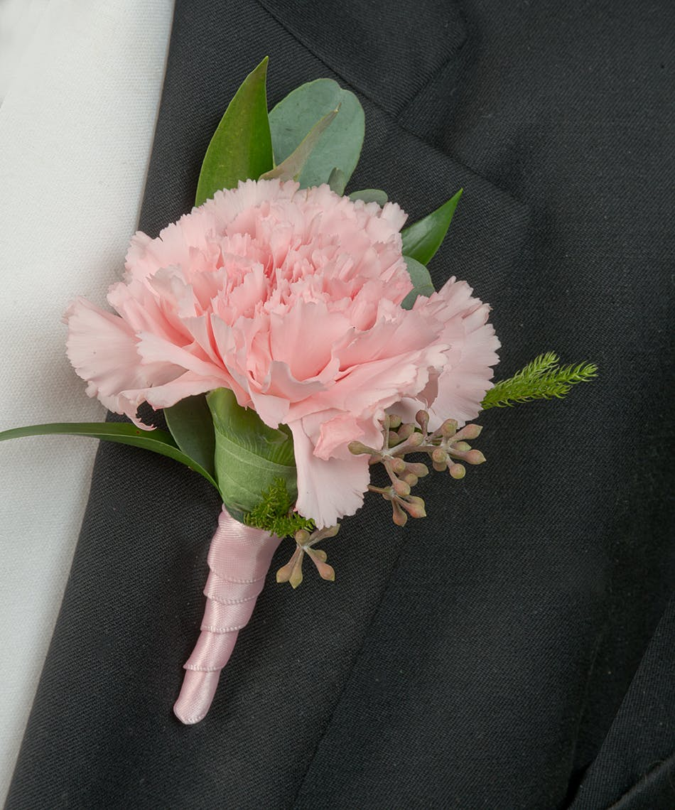 About Pink Carnation Boutonniere From Walter Knoll Florist In Saint