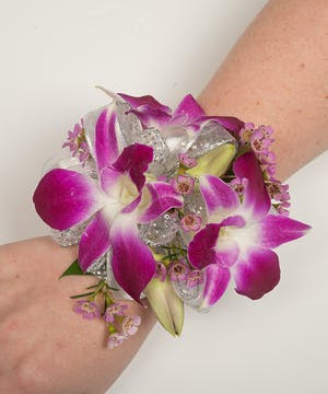 Classy Orchid Corsage