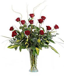 Walter Knoll Florist Magnificent Twelve Bouquet