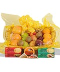 Fruit, Cheese & Cracker Basket