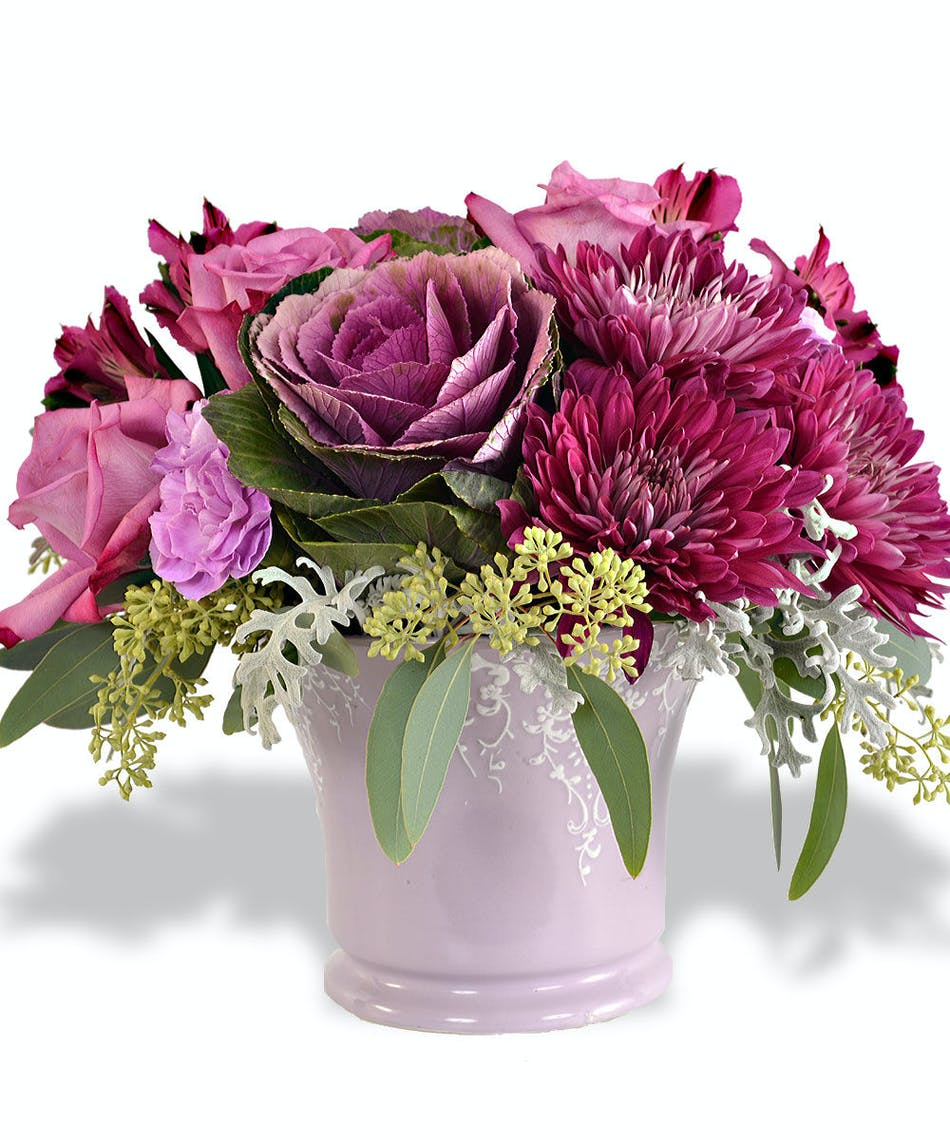 Pretty purple flowers inspired by pantones color of the year just introduce some introspective purple into your space through flowers doing so will not only freshen up your home but keep it feeling current too mightylinksfo