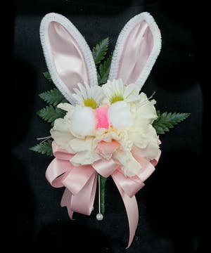 Easter corsage with a bit of whimsy!
