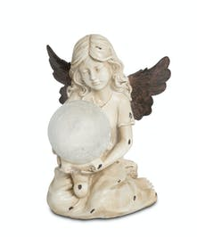 Angel with Bronze Wings and Solar Globe