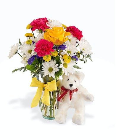 Walter Knoll Florist Bear Hug Bouquet