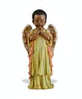 Praying African-American Angel