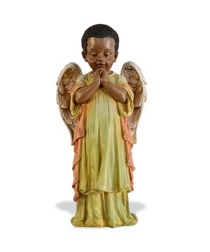 Praying African-American Angel