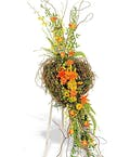 Nature In Bloom Open Curly Willow Heart Display