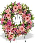 Traditional Mix Open Wreath Display
