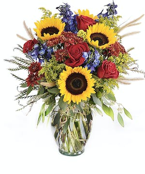 Walter Knoll Florist Sunny Skies Brighten the Mood Bouquet