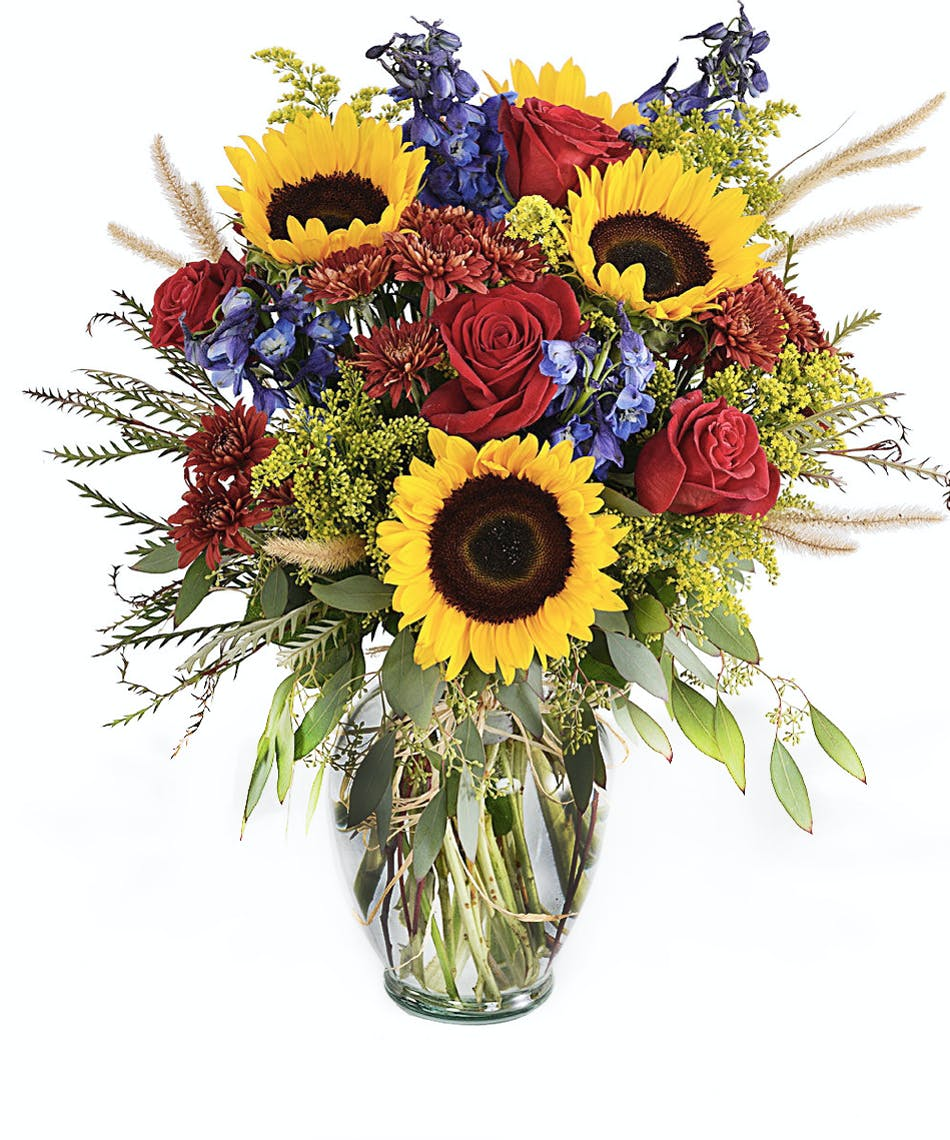 Im sorry flowers and gifts walter knoll florist st louis florist walter knoll florist sunny skies brighten the mood bouquet izmirmasajfo Image collections