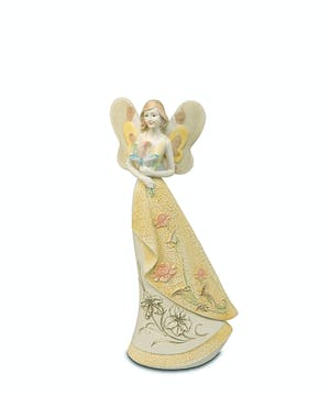 """10"""" ceramic angel"""