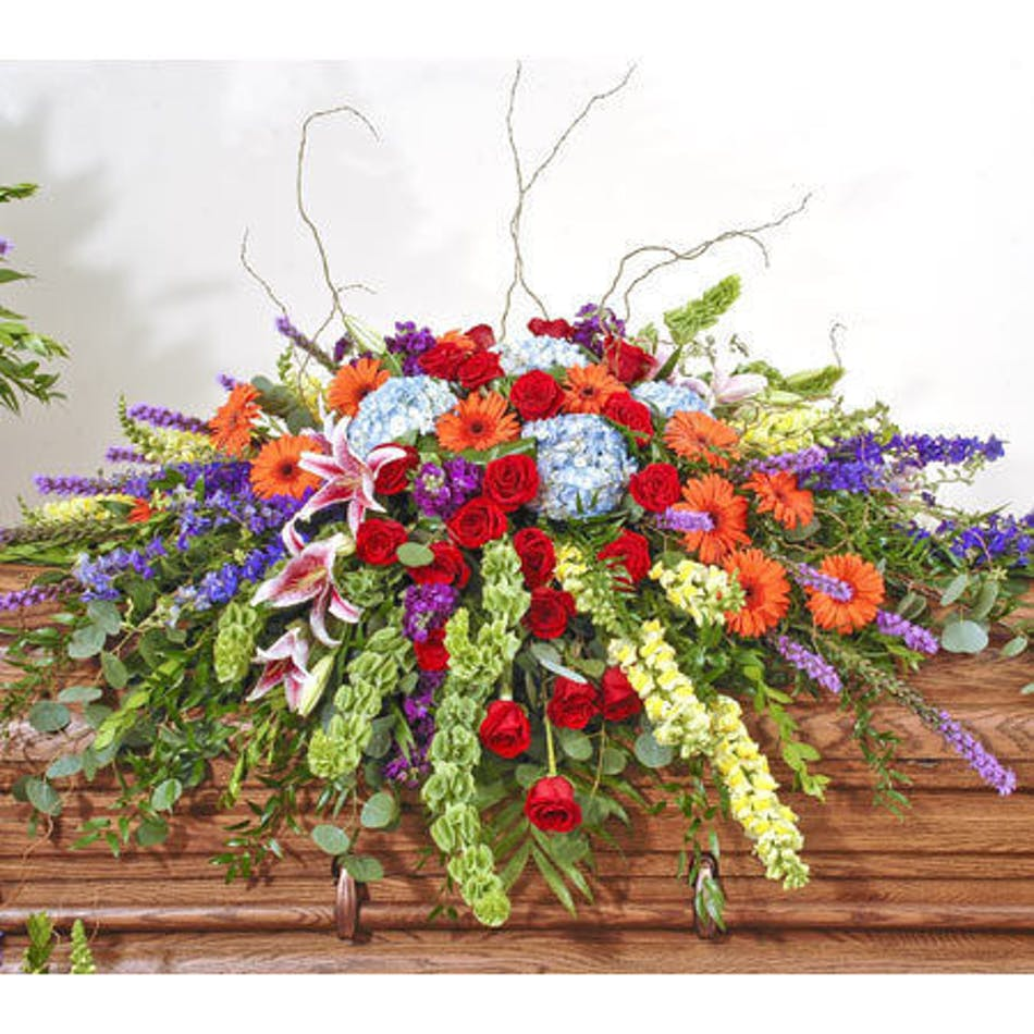 About vivid european garden easel spray from walter knoll florist delivery today available order within izmirmasajfo