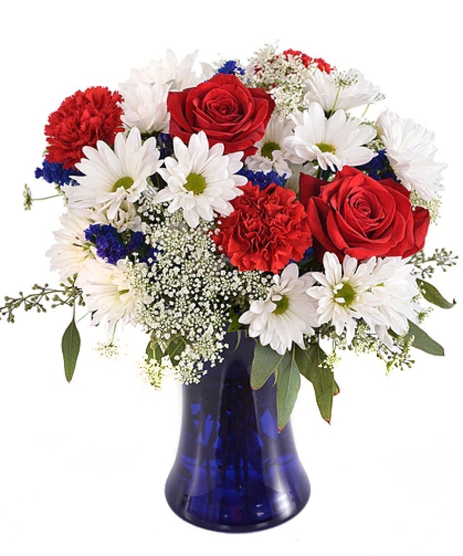 Let Freedom Ring Bouquet Show Your American Spirit