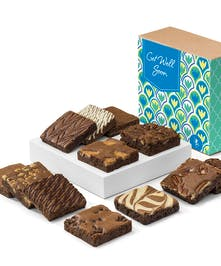 Walter Knoll Florist Box of Get Well Brownies