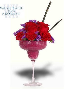 Walter Knoll Florist MIni Strawberry Mocktails