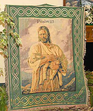 An Afghan with Christ image