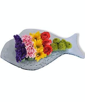 Walter Knoll Florist Omakase Sushi Platter Arrangement