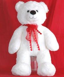 Walter Knoll Florist Plush White Bear