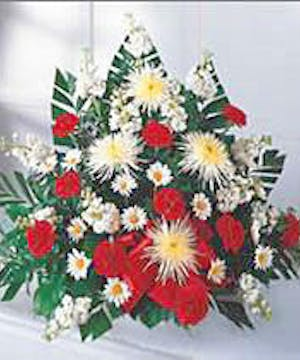 A Traditional Funeral Basket