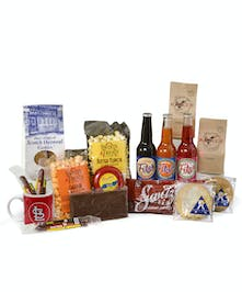 Saint Louis snacks in on a gift tray