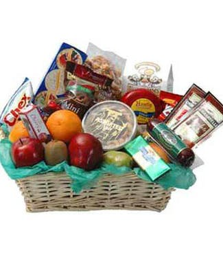 Walter Knolls Fruit And Gourmet Basket