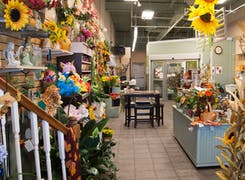 In addition to flowers and plants, Walter Knoll Florist offers a range of gifts and decorations